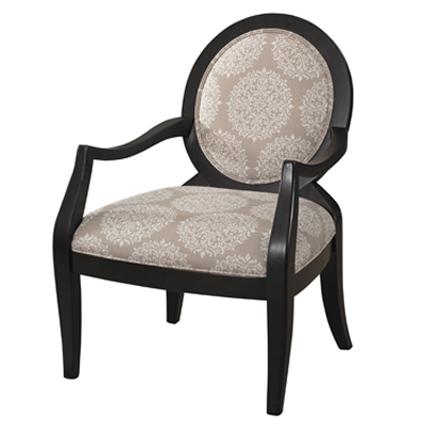 Batik Pearl Round Back Chair