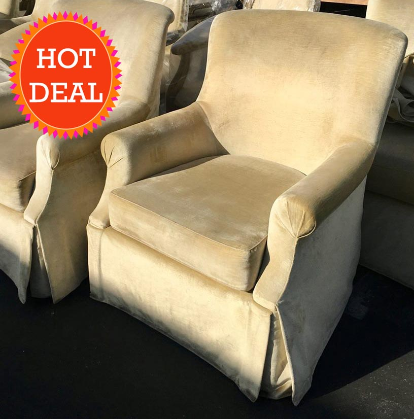 hotel surplus peninsula large swivel chairs