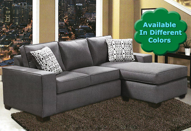 Hotel surplus venice sectional with reversible chaise for Liquidation chaise